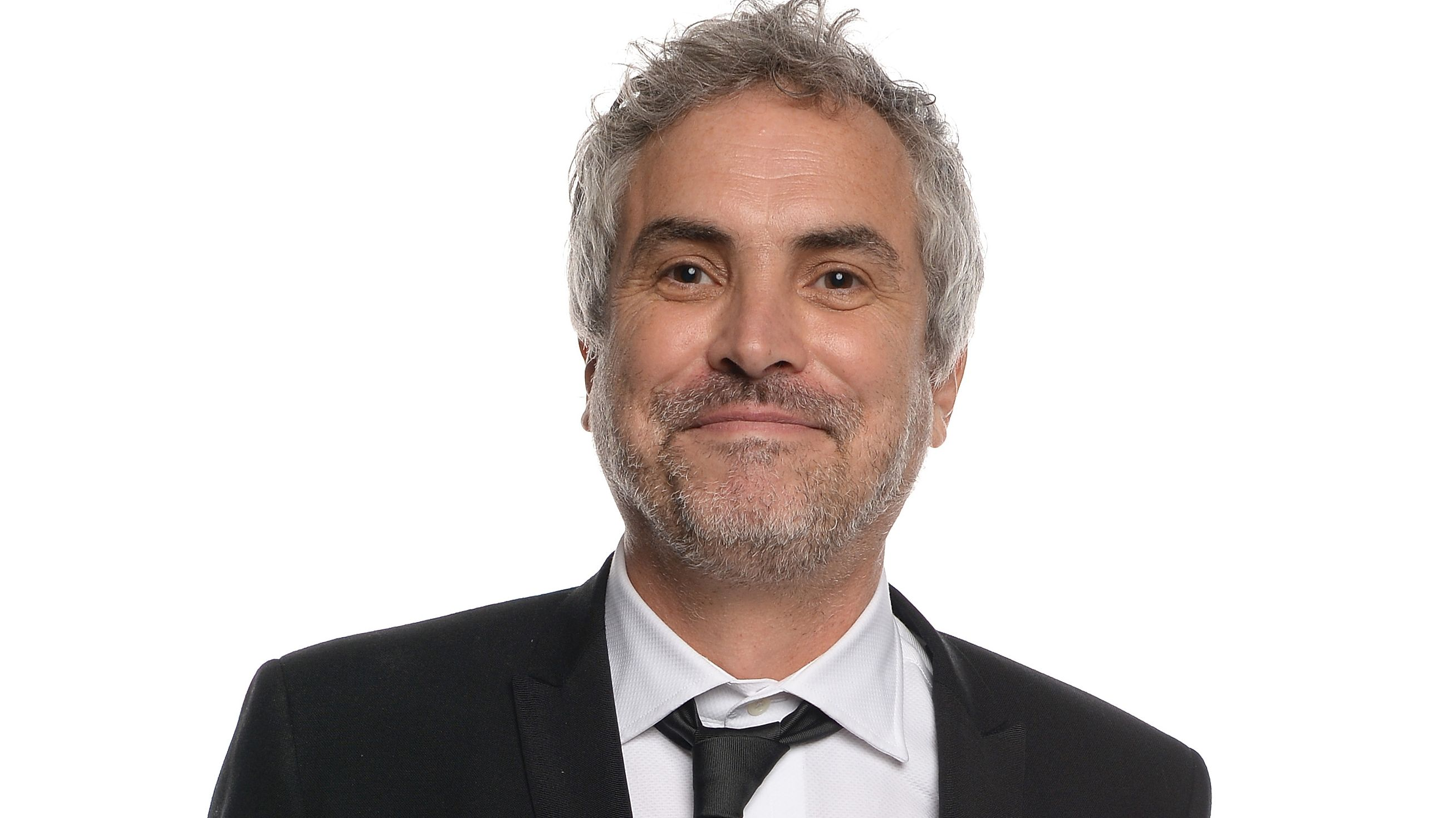 The 56-year old son of father (?) and mother(?), 185 cm tall Alfonso Cuarón in 2018 photo