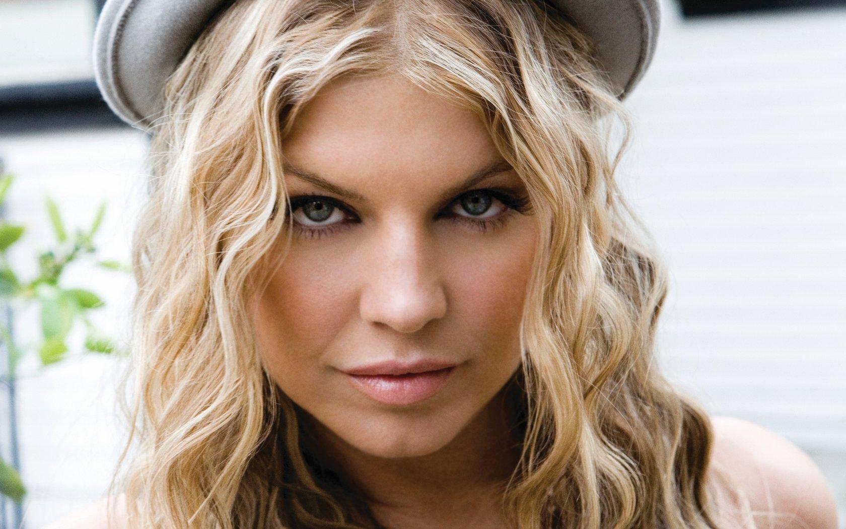 PopR ampB singer Fergie from The Fergie