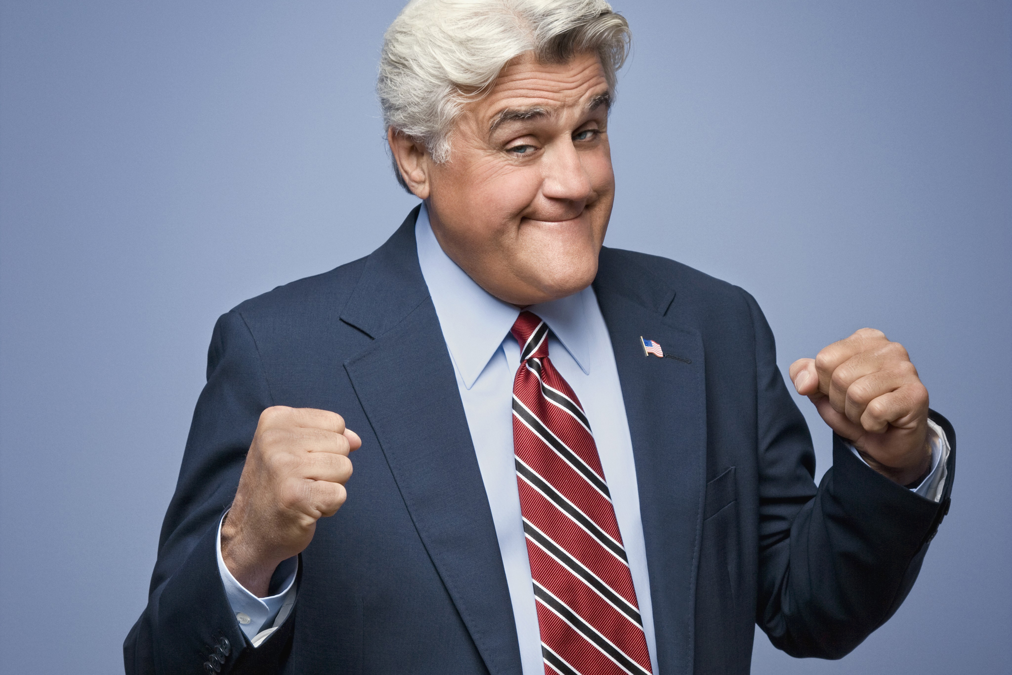 jay leno how tall