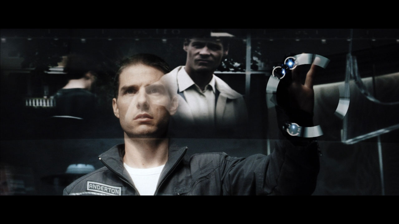 """minority report Steven spielberg's """"minority report"""" is a favorite in the online advertising world  the 2002 movie, loosely based on a philip k dick short story,."""