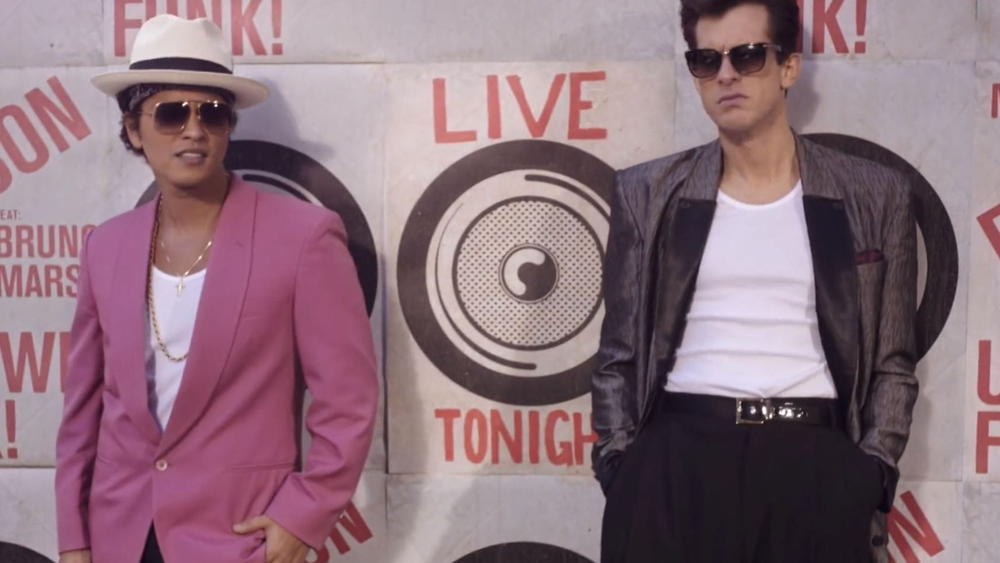 Mark Ronson And Bruno Mars Perform Uptown Funk On The