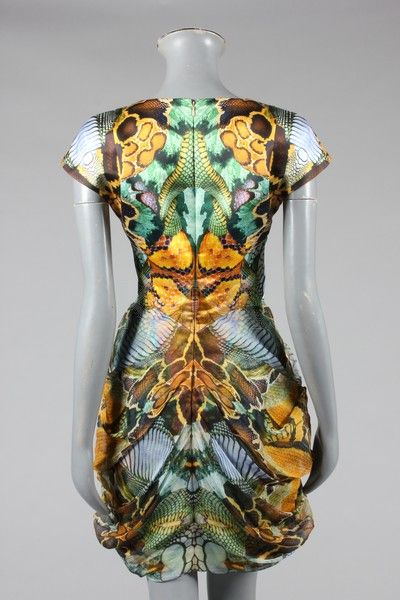 Fashion Exhibition Booth : Rare alexander mcqueen garments on auction at passion for