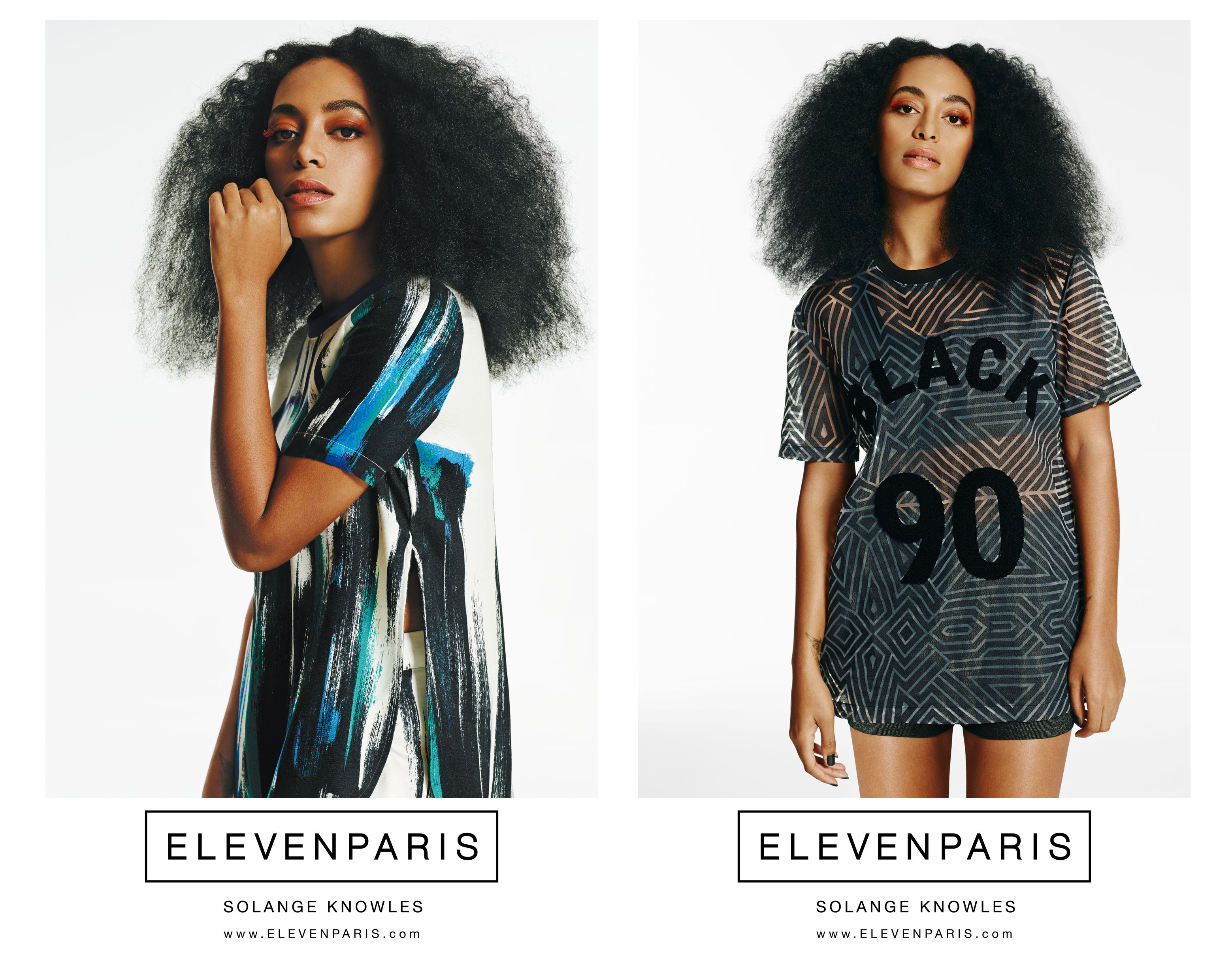 solange knowles for eleven paris spring 2015 campaign fashion news conversations about her. Black Bedroom Furniture Sets. Home Design Ideas