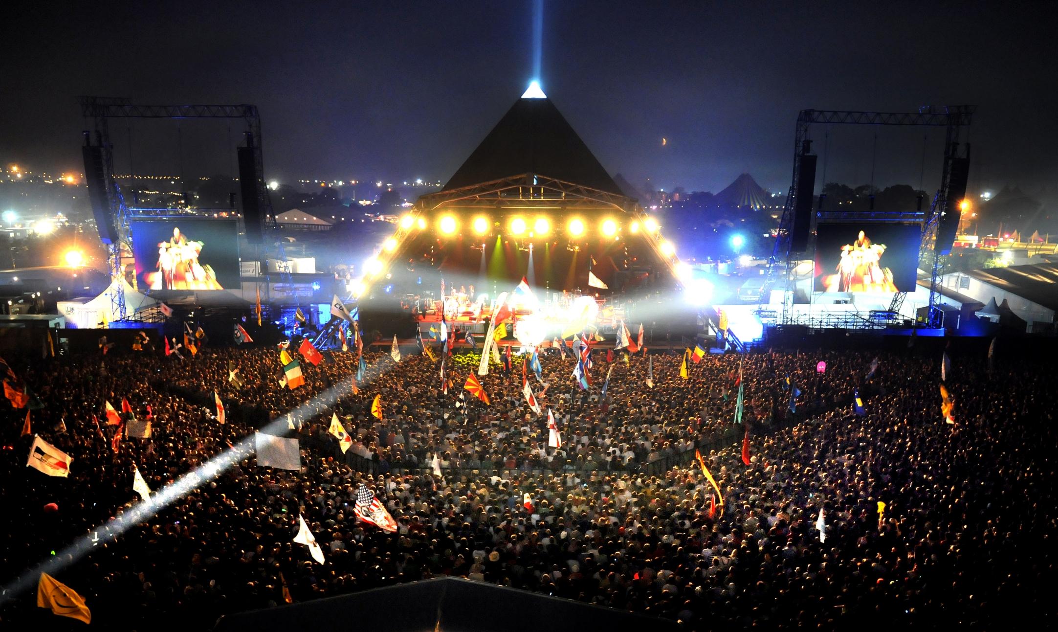 Glastonbury Festival Source: BBC