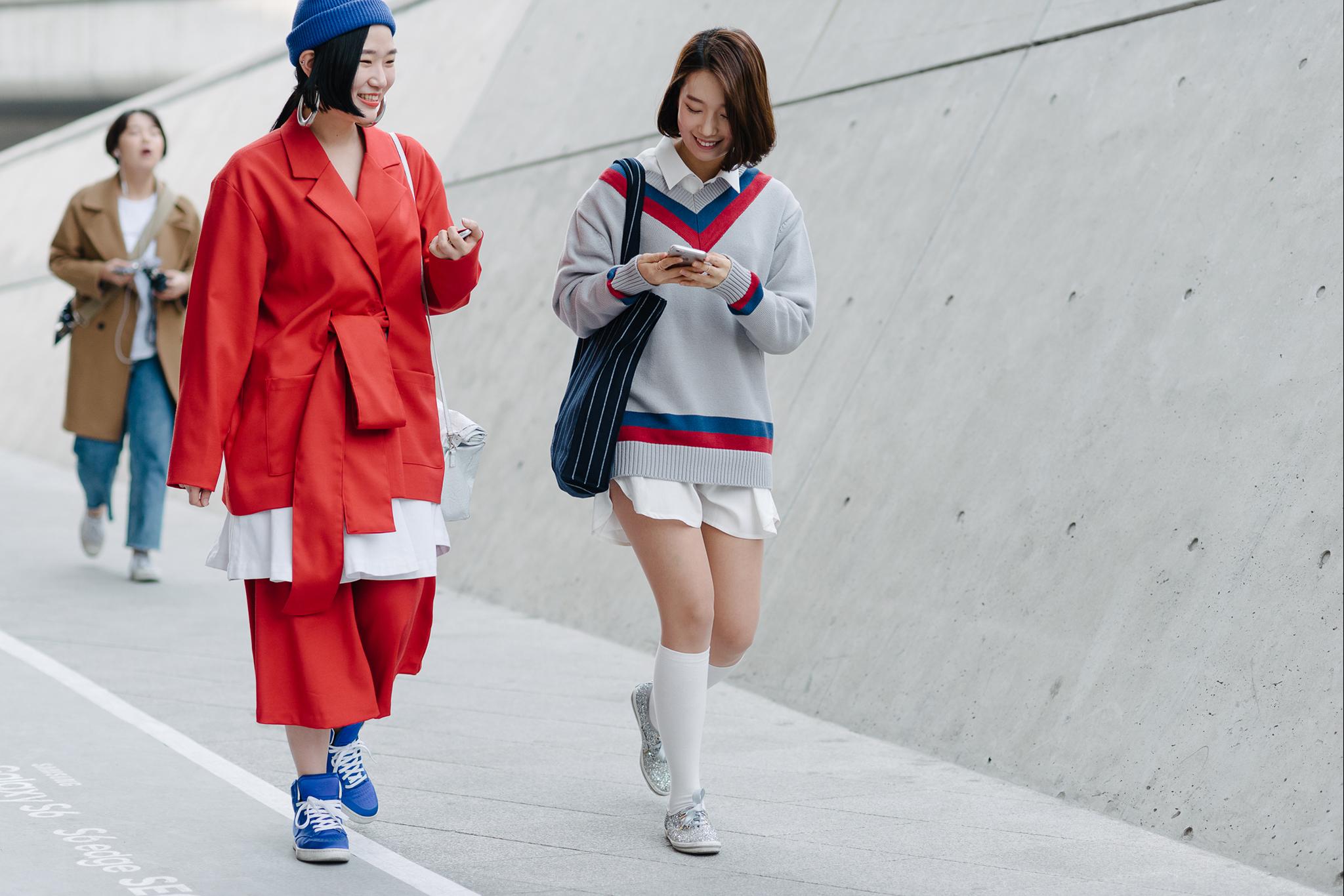 Amazing street style at seoul fashion week 2015 fashion Fashion style oktober 2015