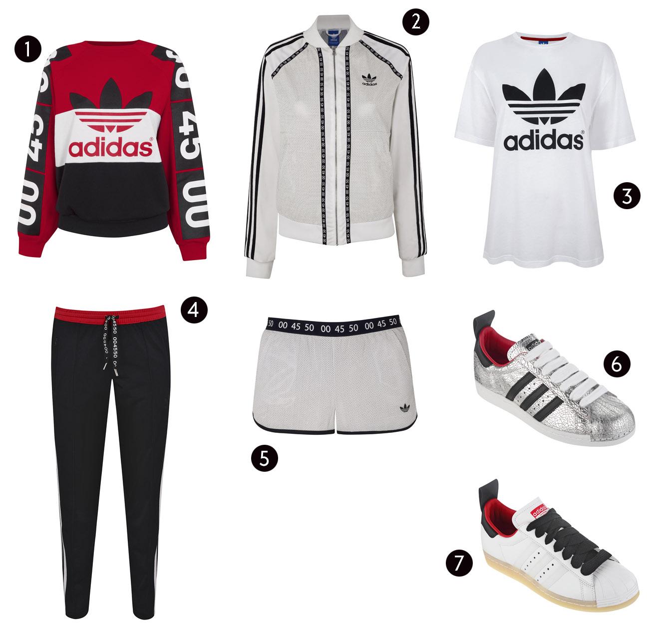 Adidas for topshop originals collection rare photo