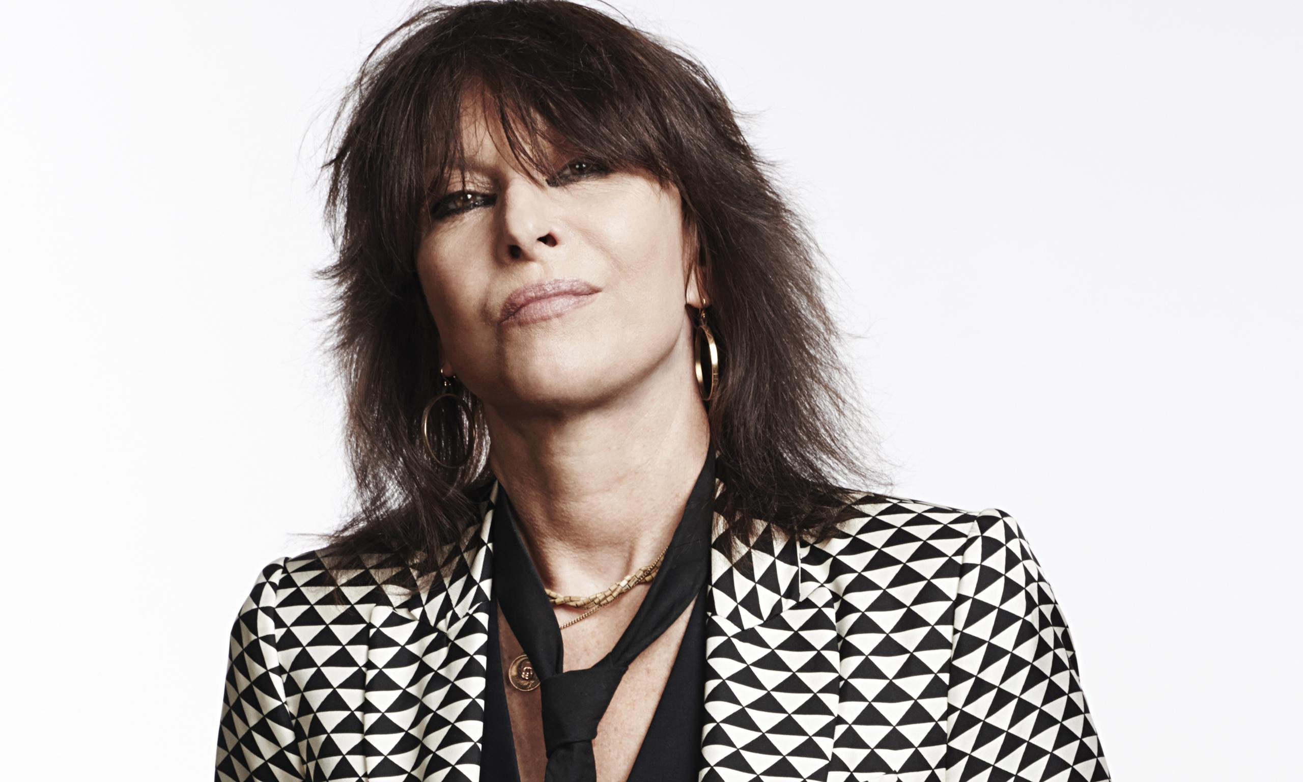 Chrissie Hynde photographed this month for the Observer New Review by Dean Chalkley.