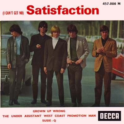 i cant get no satisfaction music (i can't get no) satisfaction is a song by the english rock band the rolling stones, released in 1965 it was written by mick jagger and keith richards and.