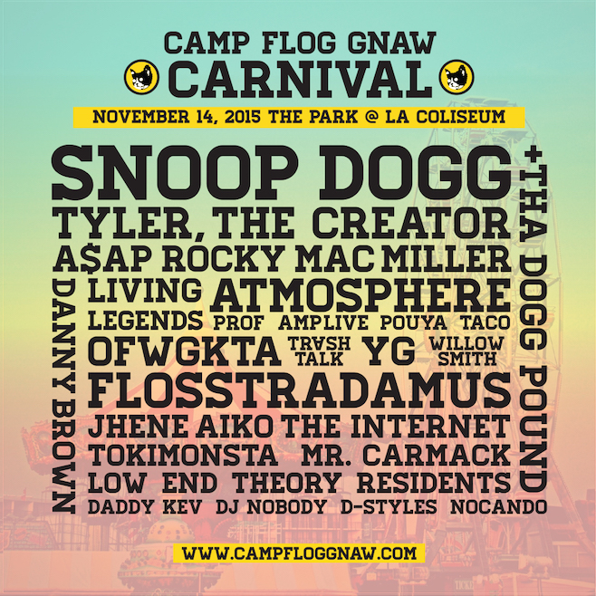 9c2ccafa7b62 Odd Future To Make Live Return At Camp Flog Gnaw Carnival