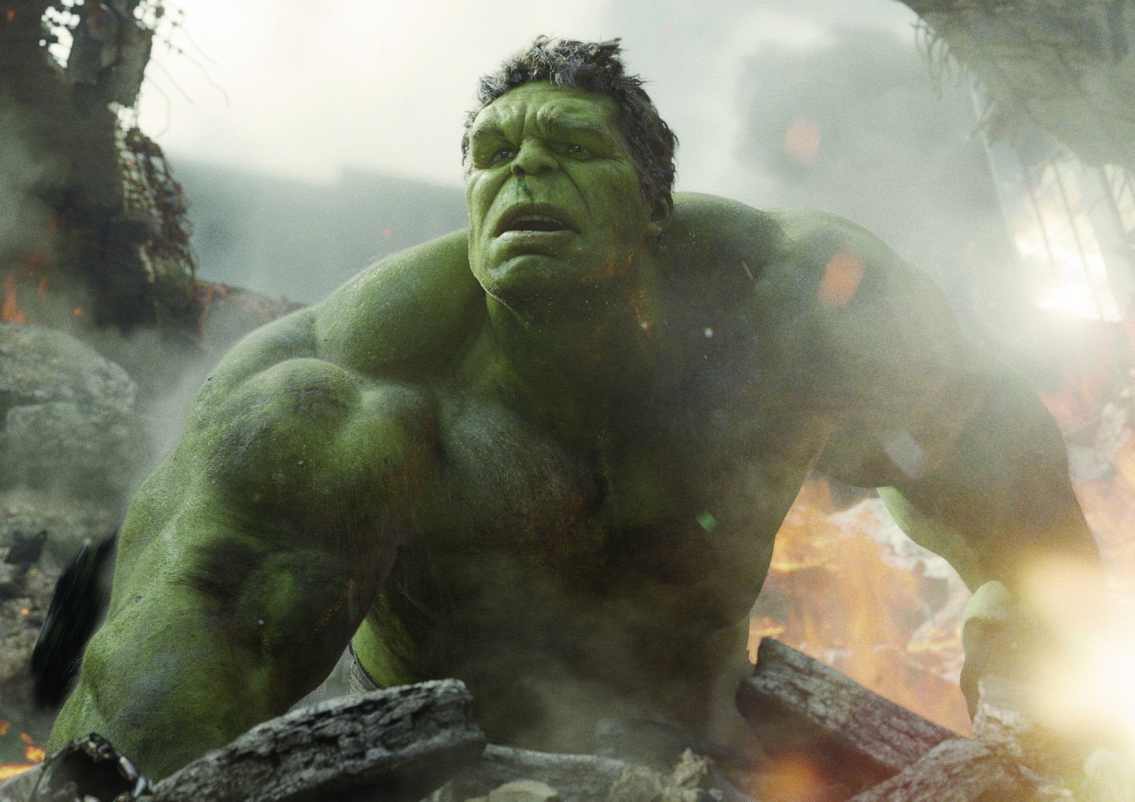 """Marvel's The Avengers"" ..Hulk (Mark Ruffalo)..© 2011 MVLFFLLC. TM & © 2011 Marvel.  All Rights Reserved."
