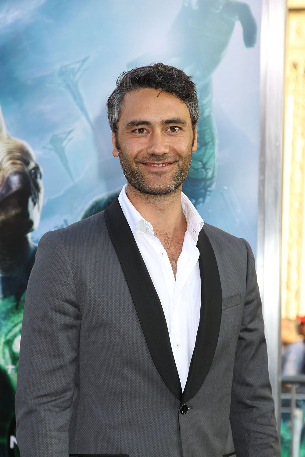 Taika Waititi at the Los Angeles Premiere of GREEN LANTERN, June 15, 2011 at the Grauman's Chinese Theatre, Hollywood. Photo Credit Sue Schneider_MGP Agency