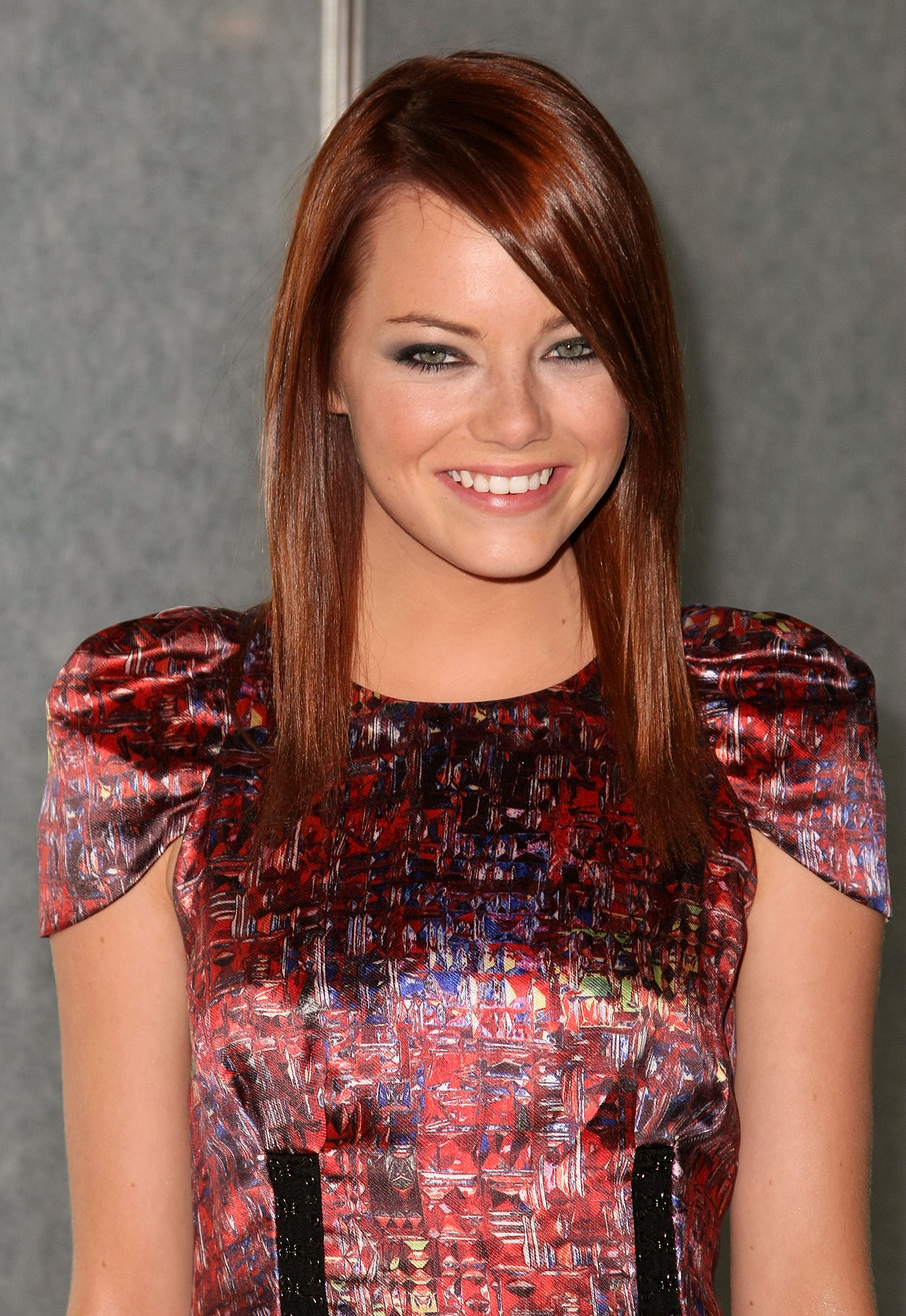 "NEW YORK - AUGUST 18: Actress Emma Stone attends Columbia Picture/Happy Madison's screening of ""The House Bunny"" at the Joseph Urban Theatre inside of the Hearst Tower on August 18, 2008 in New York City. (Photo by Andrew H. Walker/Getty Images)"