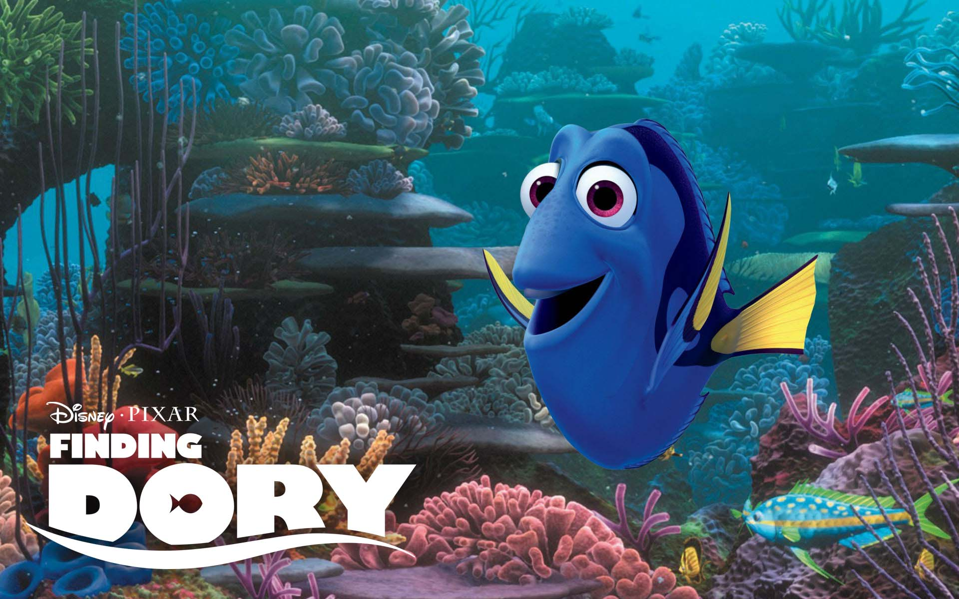 New finding dory motion poster revealed film news for Dory fish movie