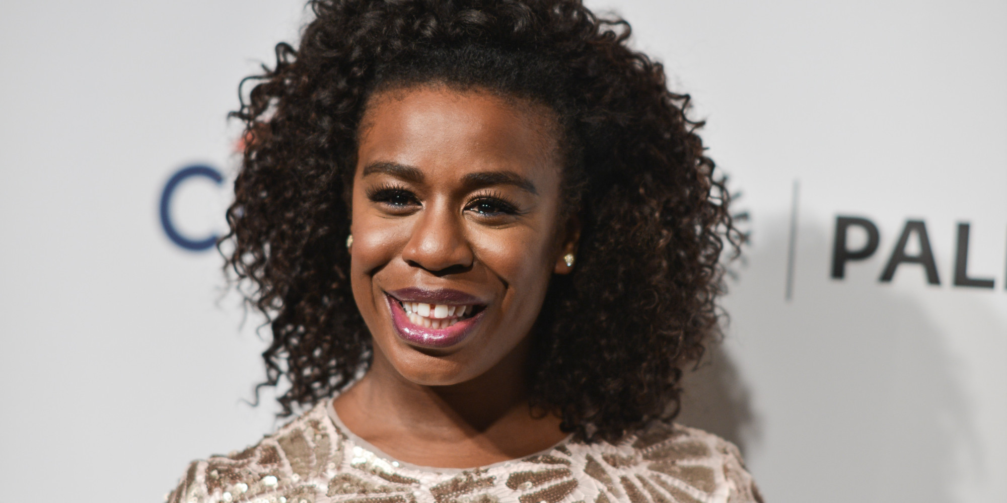 "Uzo Aduba arrives at PALEYFEST 2014 - ""Orange is the New Black"" on Friday, March 14, 2014, in Los Angeles. (Photo by Richard Shotwell/Invision/AP)"
