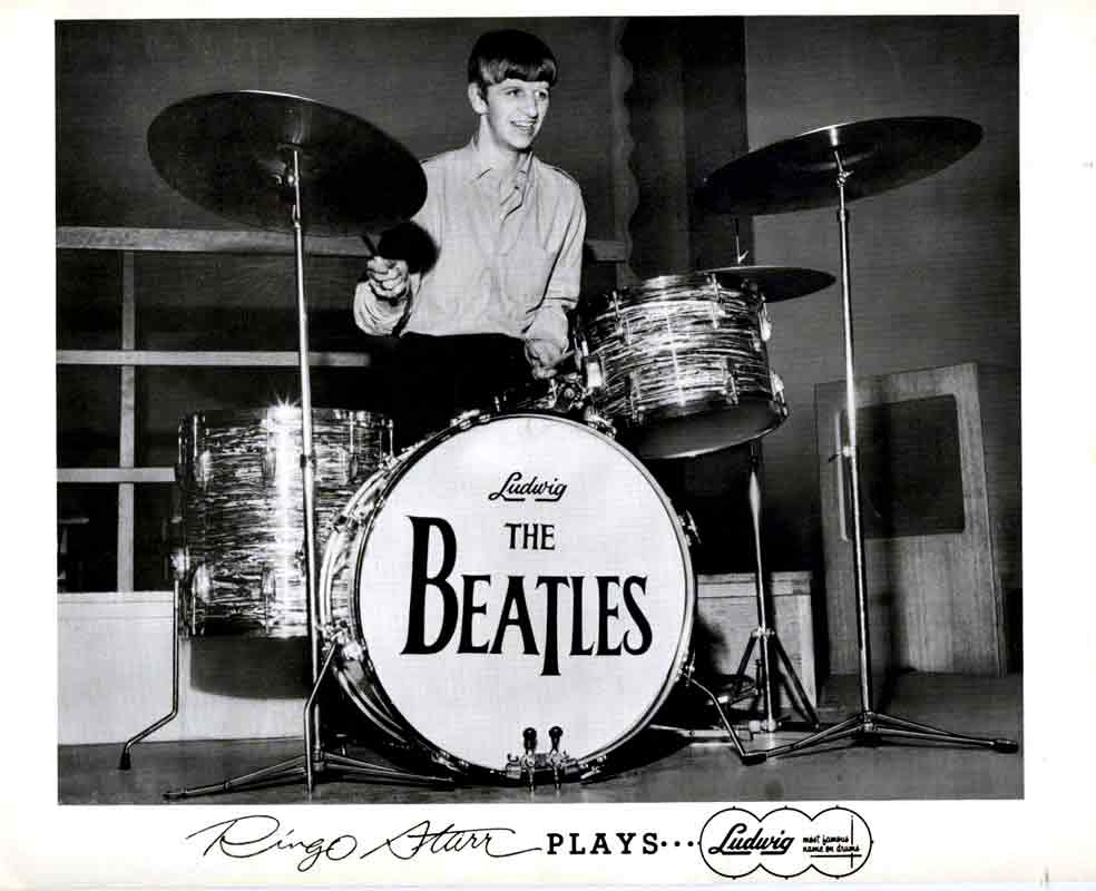 Ringo Starrs Beatles Drum Kit Sells For 22m