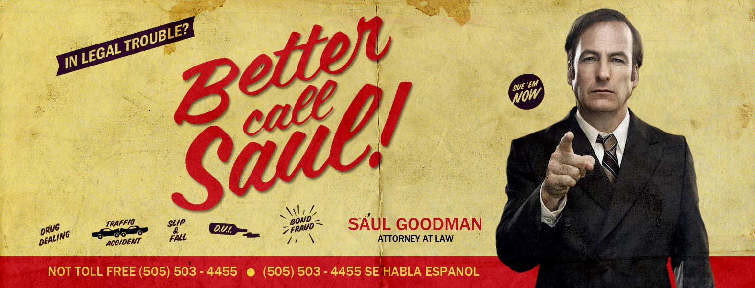 Better call saul tv poster