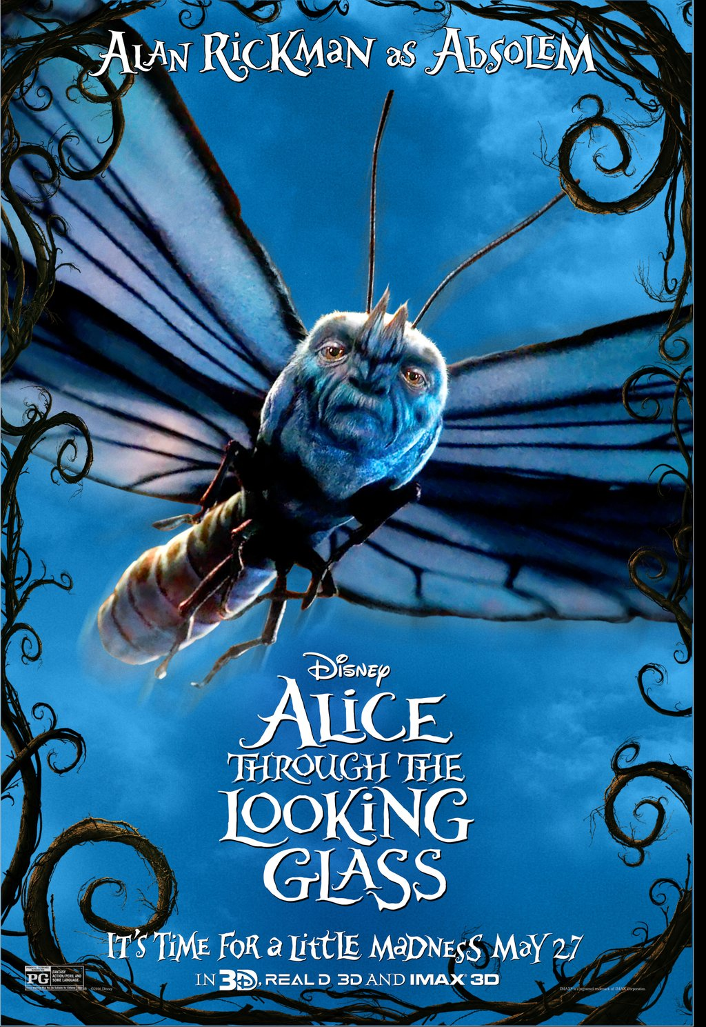 Alice Through The Looking Glass Character Poster 1