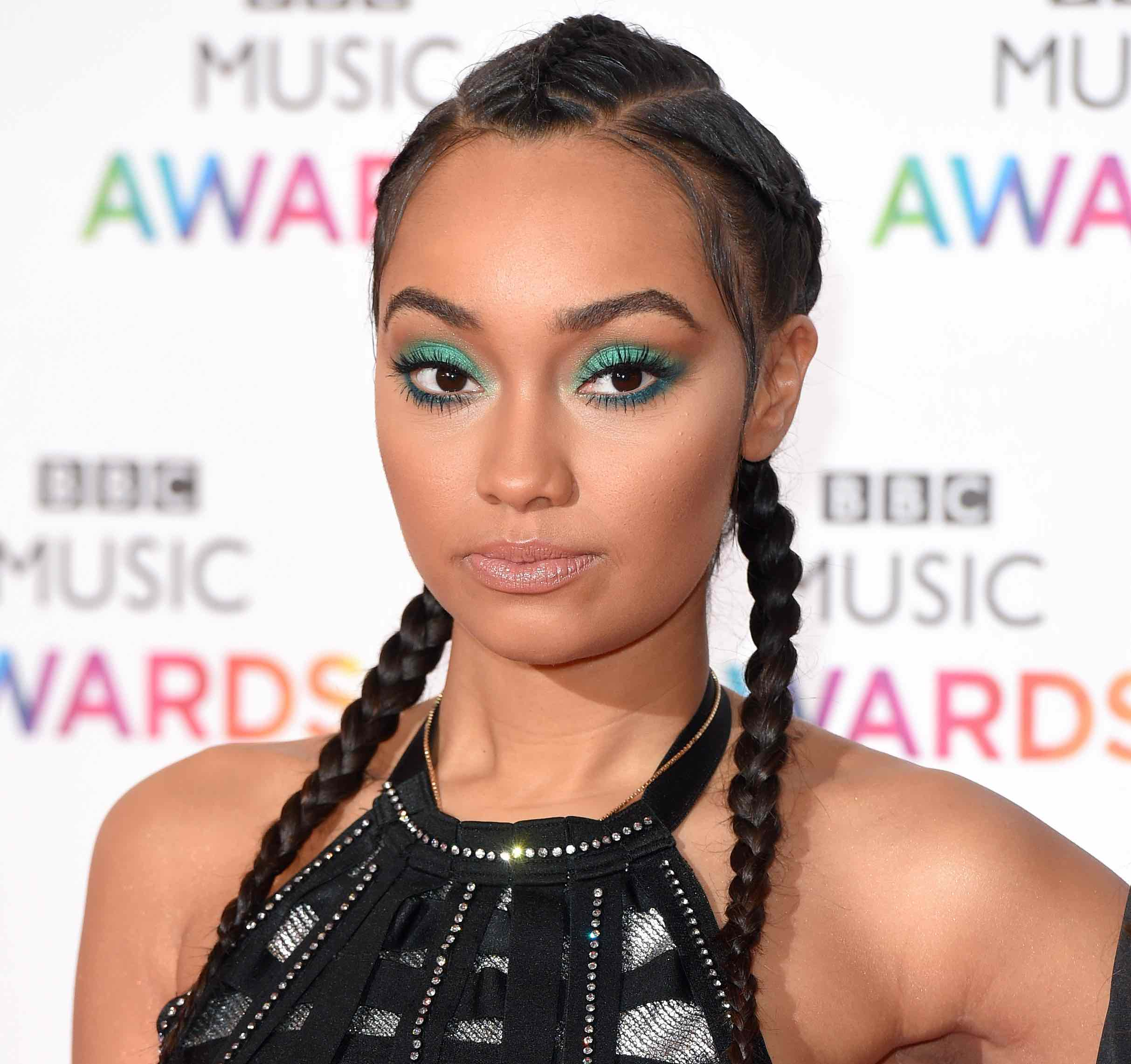 BIRMINGHAM, ENGLAND - DECEMBER 10:  Leigh-Anne Pinnock of Little Mix attends the BBC Music Awards at Genting Arena on December 10, 2015 in Birmingham, England.  (Photo by Karwai Tang/WireImage)