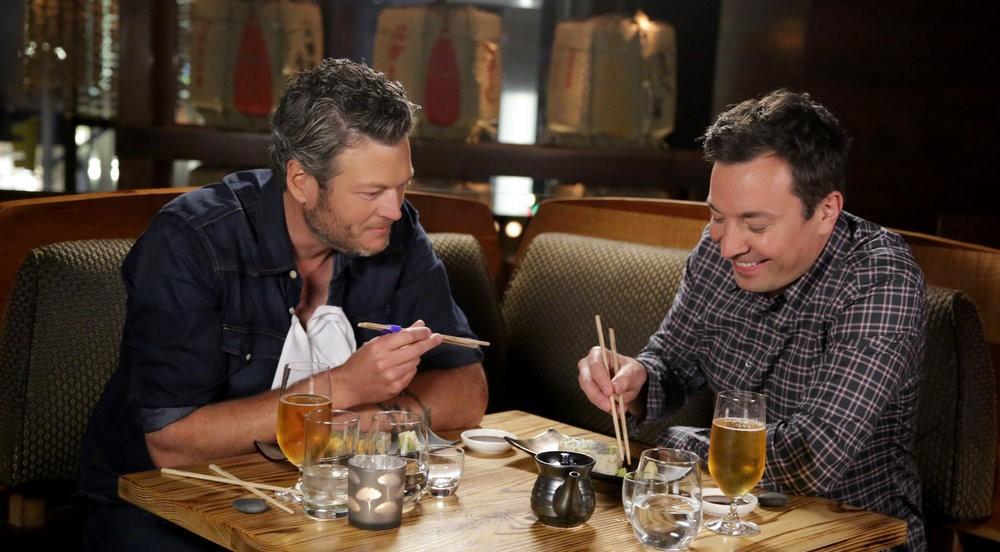 Blake-Shelton-Sushi