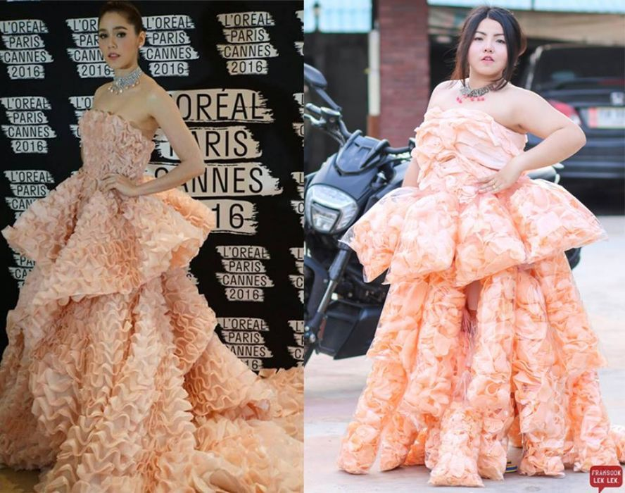 Prawn Cracker dress