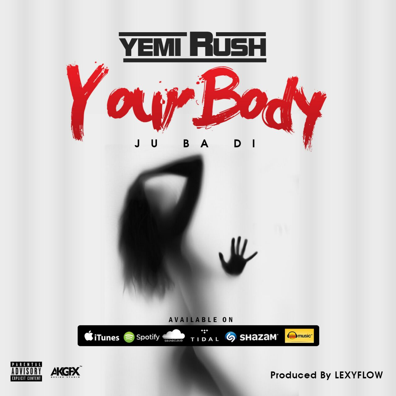 Yemi Rush Your Body Artwork