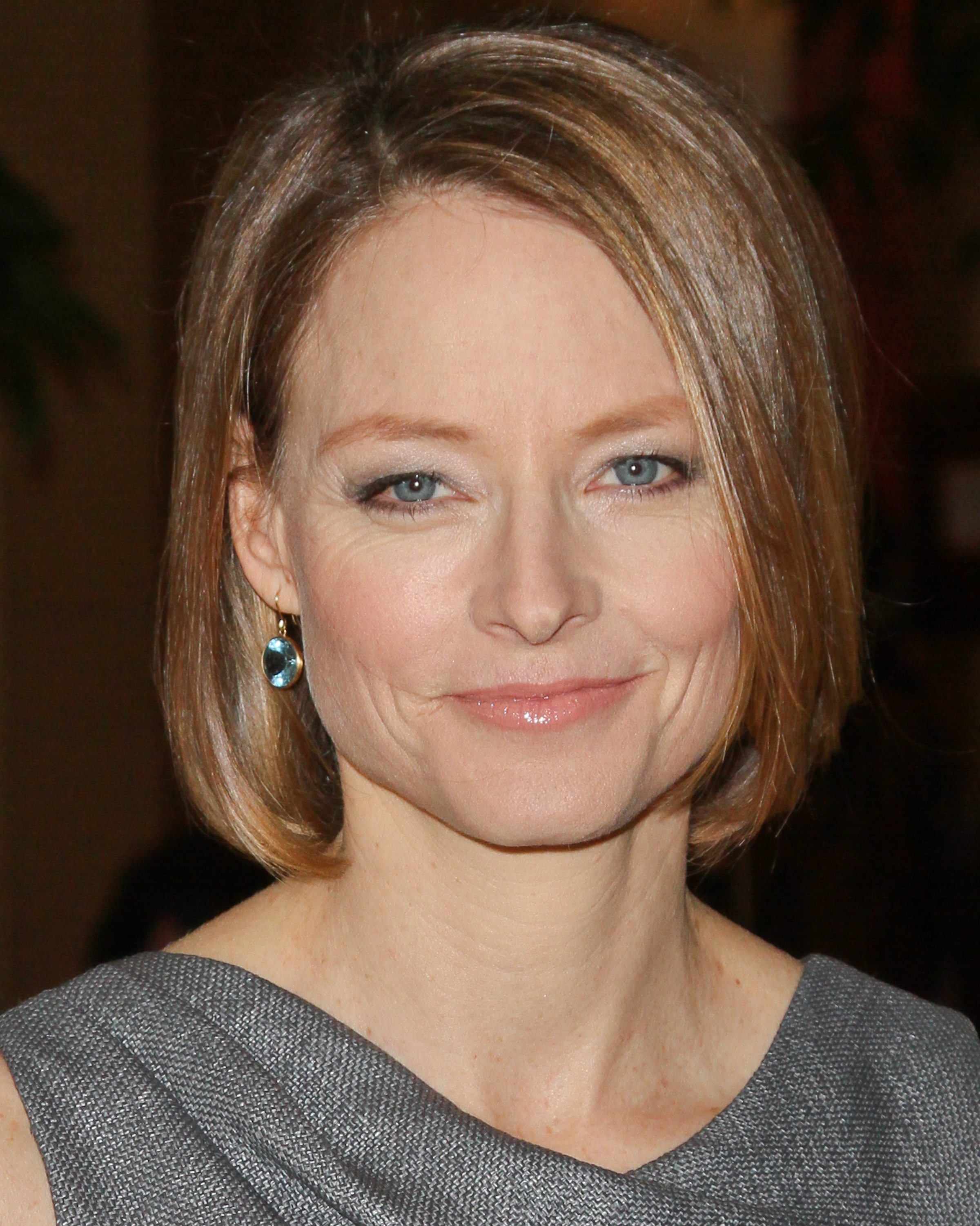 BEVERLY HILLS, CA - FEBRUARY 24: Actress Jodie Foster attends The International Cinematographers Guild's 49th Annual Publicists Awards Luncheon at The Beverly Hilton Hotel on February 24, 2012 in Beverly Hills, California. (Photo by Paul Archuleta/FilmMagic)