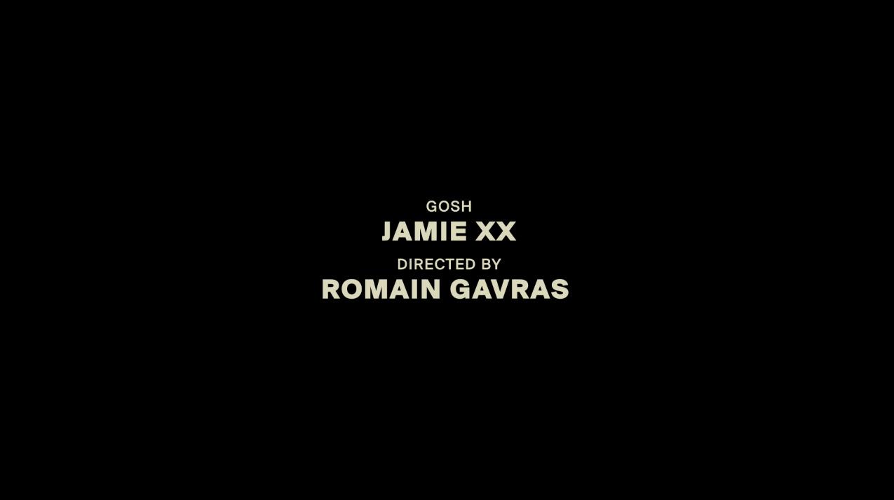 gosh jamie xx
