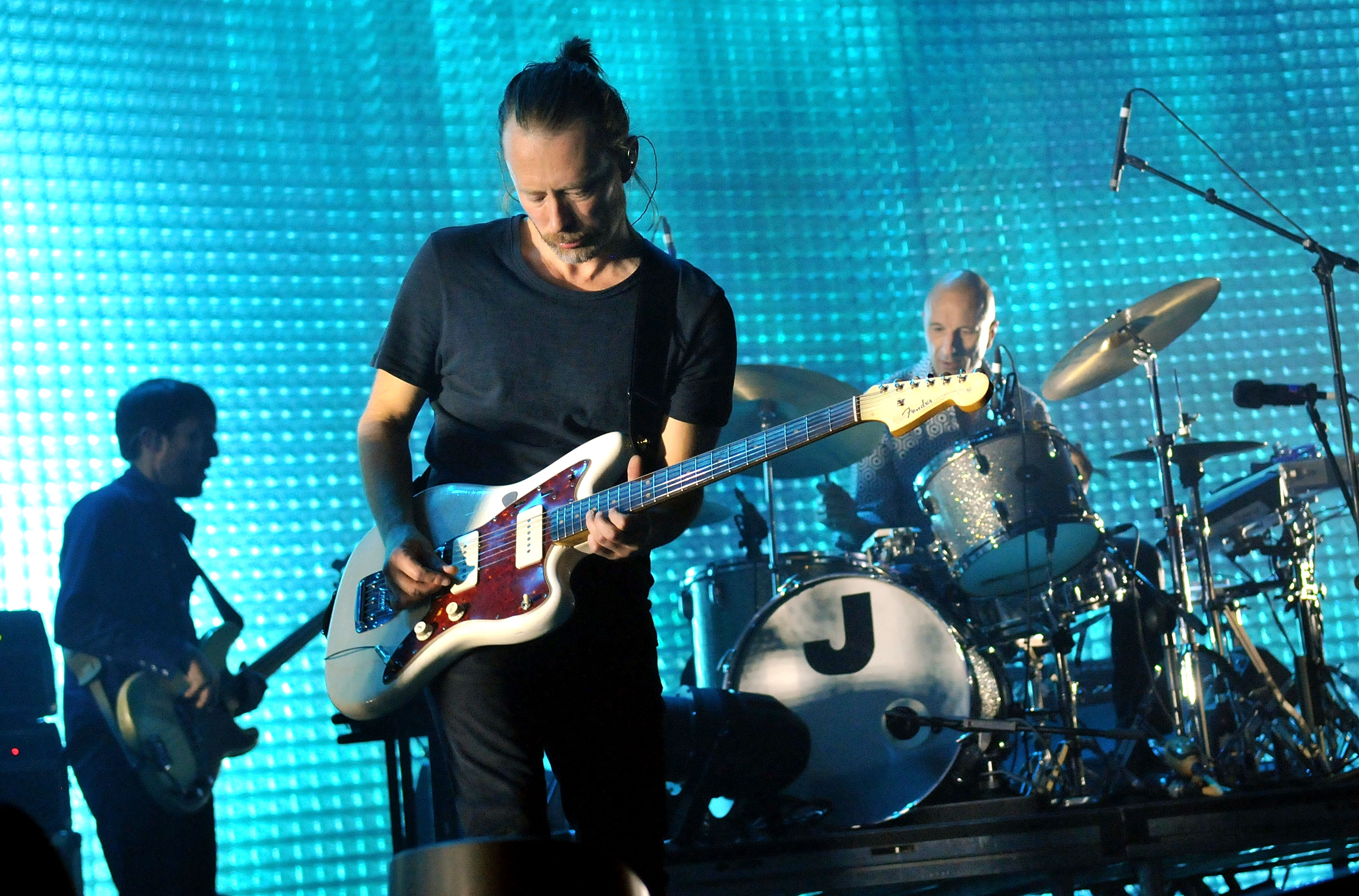 Radiohead Perform At The 02 Arena