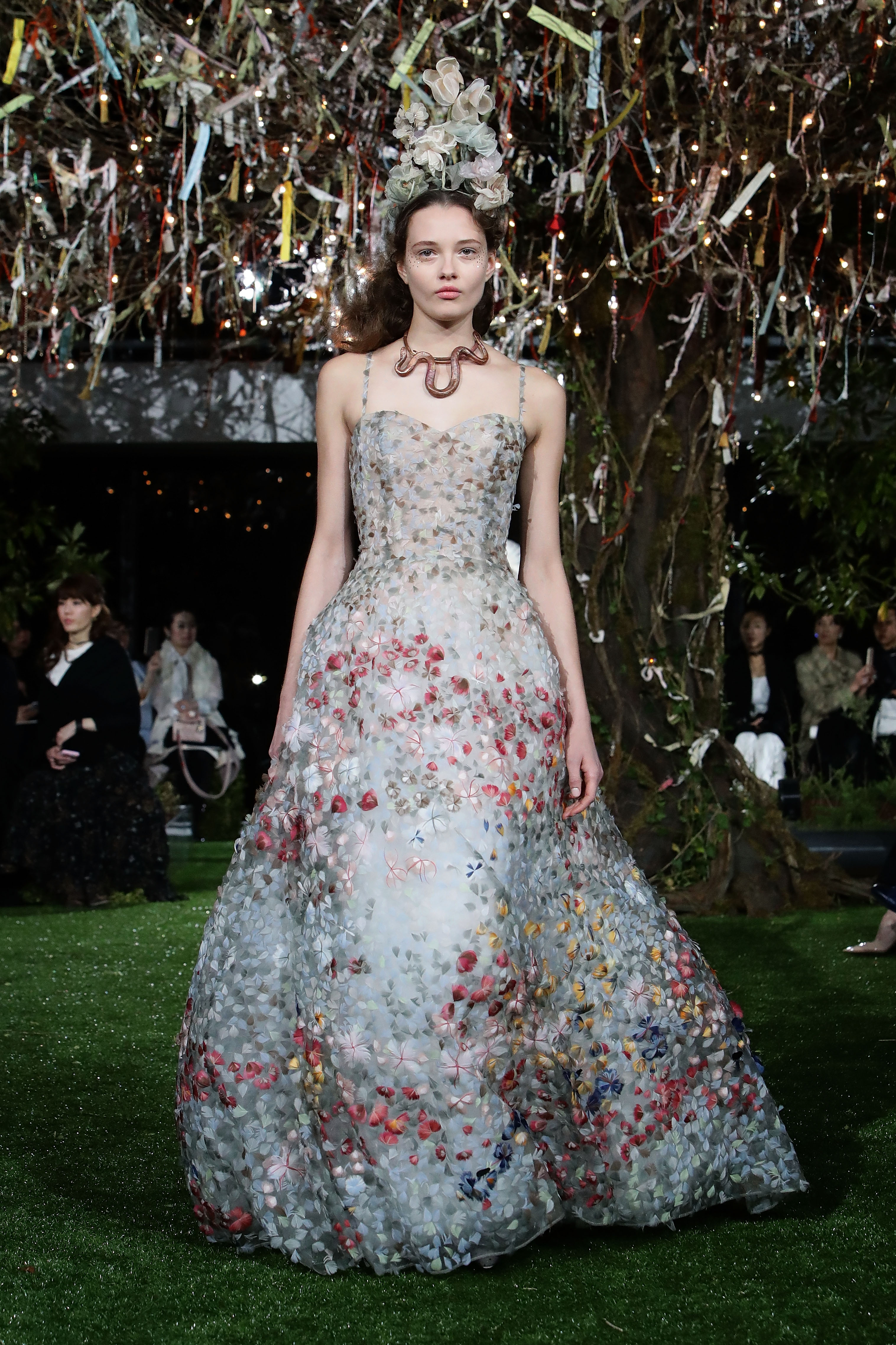Dior Present A Cherry Blossom-Inspired Runway On Tokyo Rooftop ...