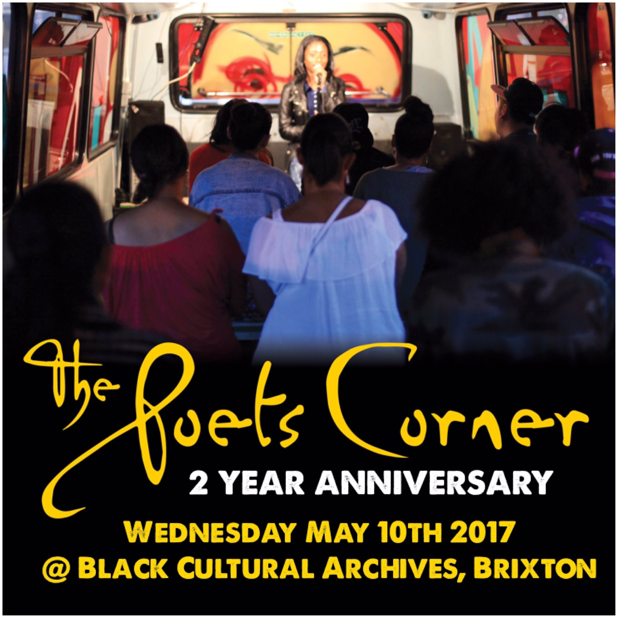 2nd Saturday Poets 2: 'The Poets Corner' 2nd Year Anniversary