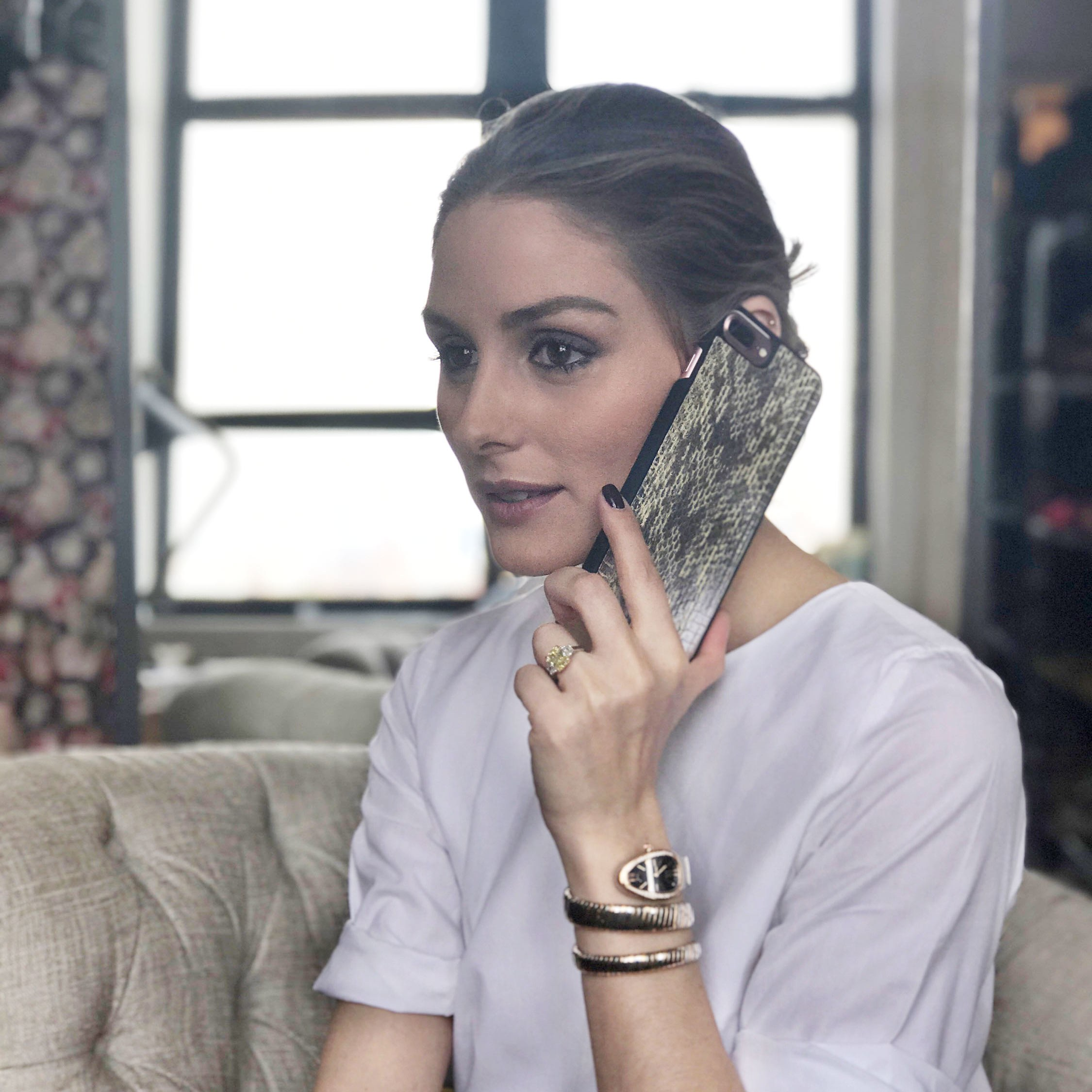 Olivia Palermo's Luxury iPhone Accessories Collection With ...