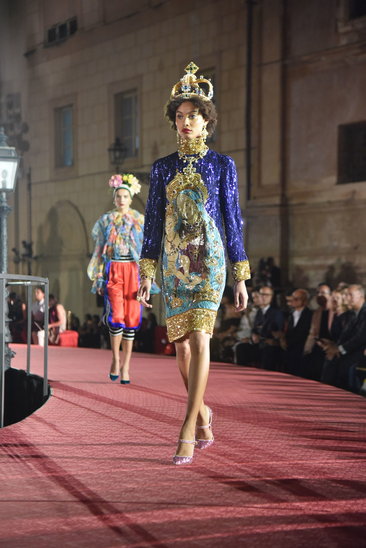 dolce and gabbana host latest alta moda show in palermo