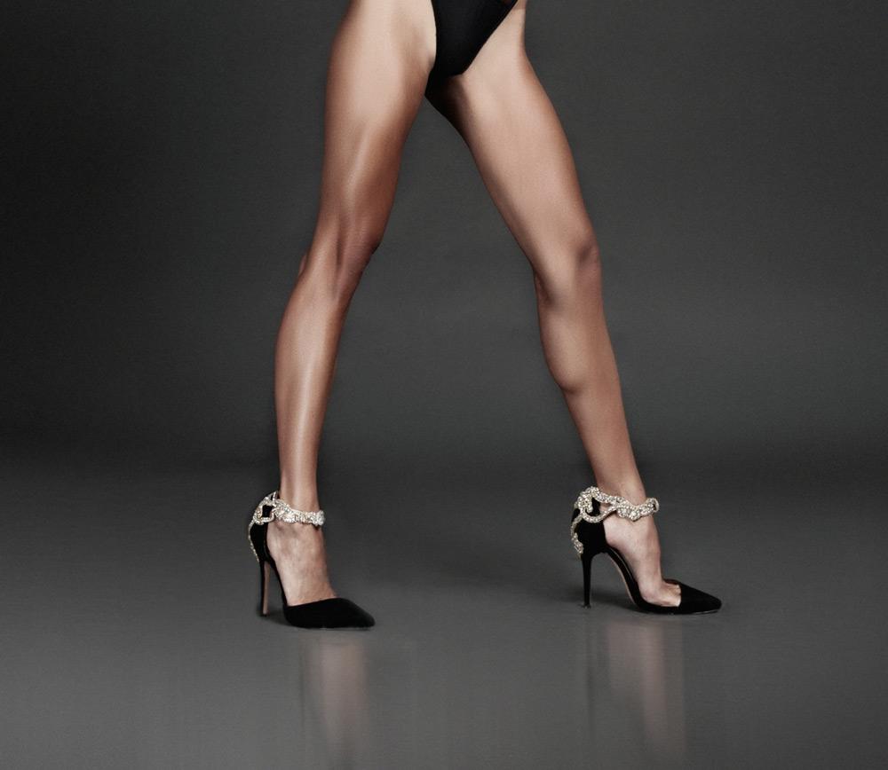 Crystal-Embellished Heels Are Back In Fashion