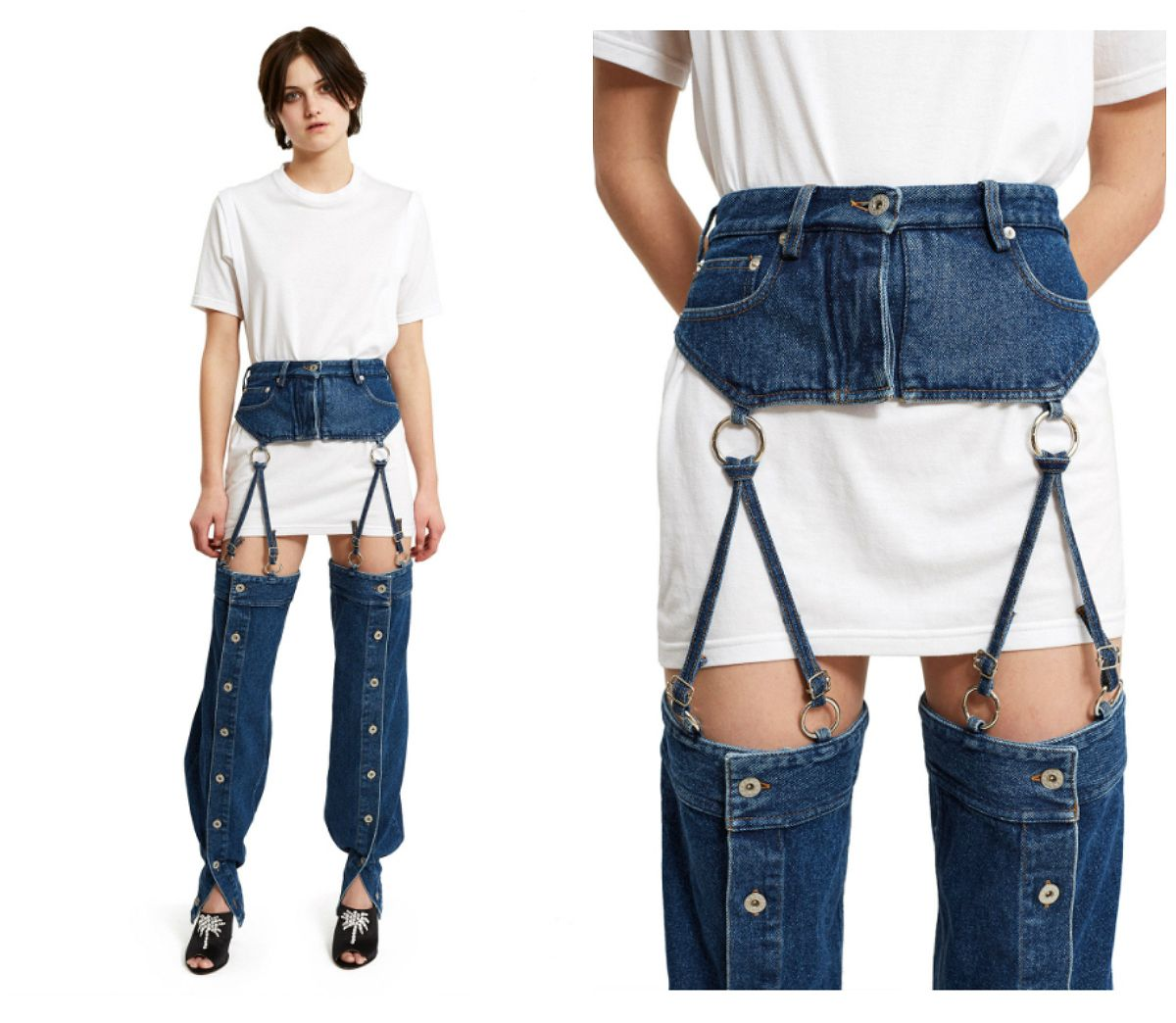topshop are trying to bring suspender jeans back fashion news conversations about her. Black Bedroom Furniture Sets. Home Design Ideas