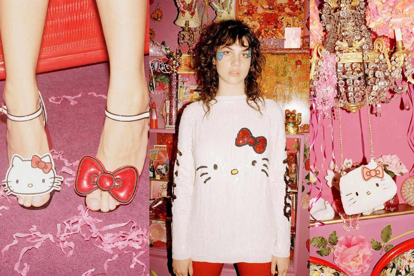 The British online fashion and beauty store Asos has teamed up with the  Japanese cartoon cat Hello Kitty in order to create a brand new collection. 0c6874a786