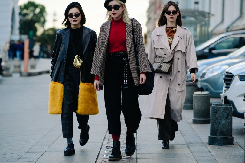 The Best Street Style From Russia Fashion Week Fashion News Conversations About Her