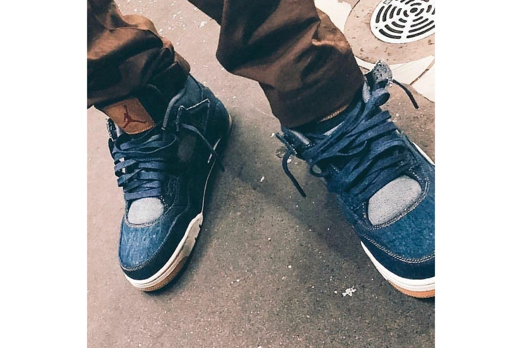 c6e4e6e9 First Confirmed Images For The Levi's x Air Jordan Collaboration ...