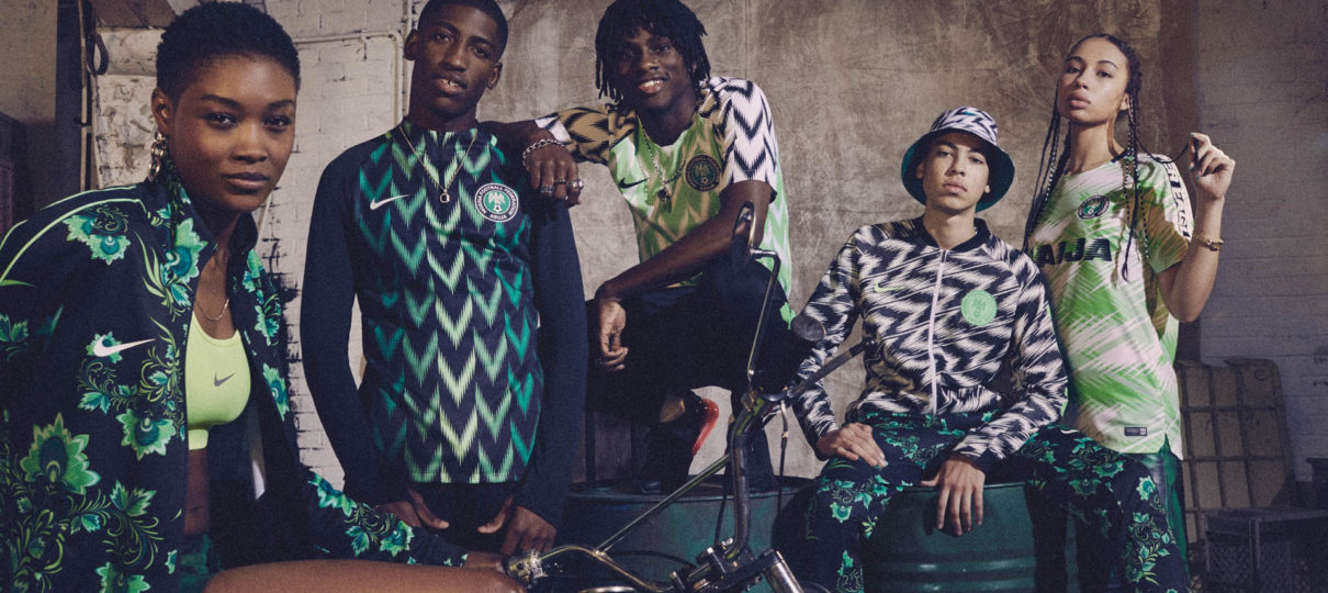 Nike Strike Gold With Nigeria's Eye-Catching World Cup Kits | Fashion News