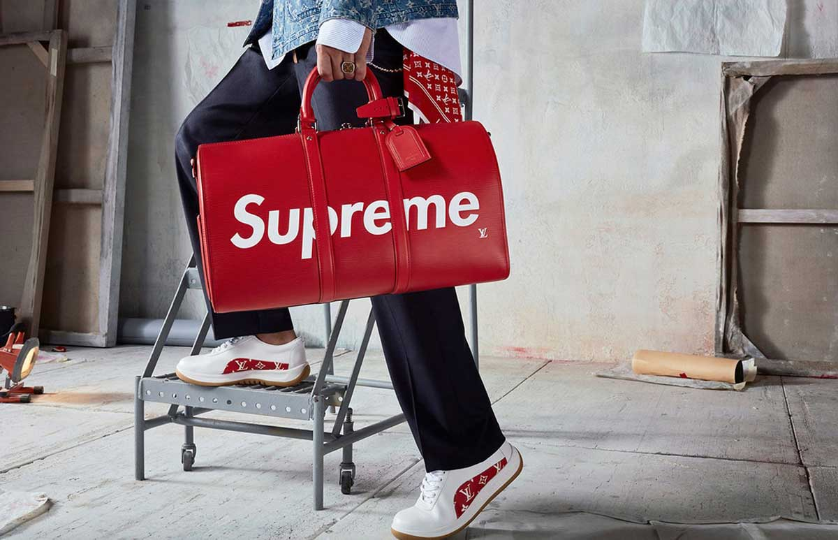 23d81f4e7c926b After Supreme s collaboration with Louis Vuitton – definitively the collaboration  of the year – fans and hypebeasts alike have been wondering if there will  ...