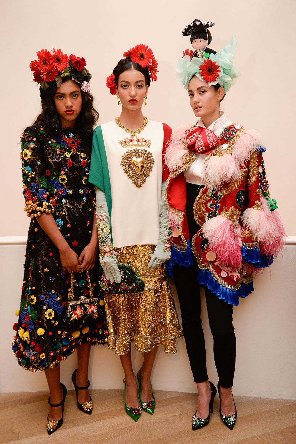 dolce gabbana s new collection alta moda is frida kahlo inspired rh conversationsabouther net