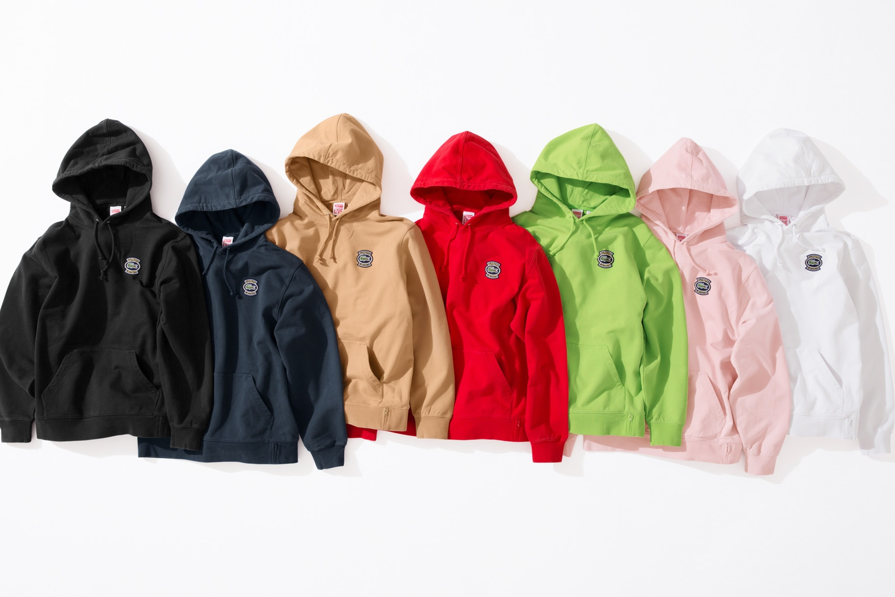 Supreme Amp Lacoste Come Together For A New Spring