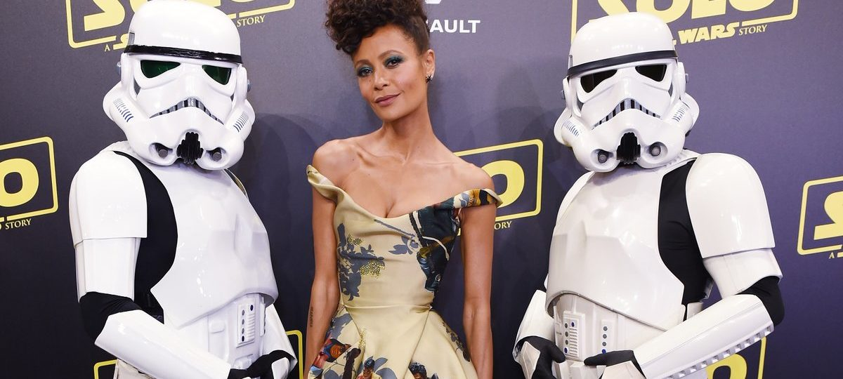 Thandie Newton Showcases Black 'Star Wars' Characters On Her Dress At Cannes | Fashion News