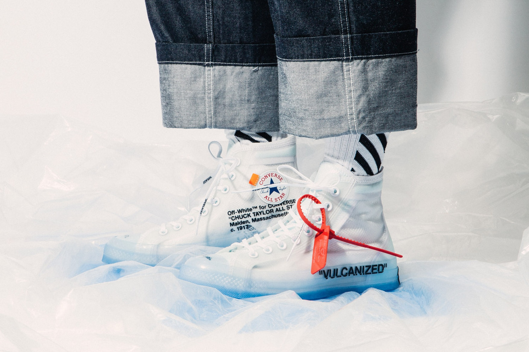 Virgil Abloh Collaborates With Converse For New Chuck 70 | Fashion