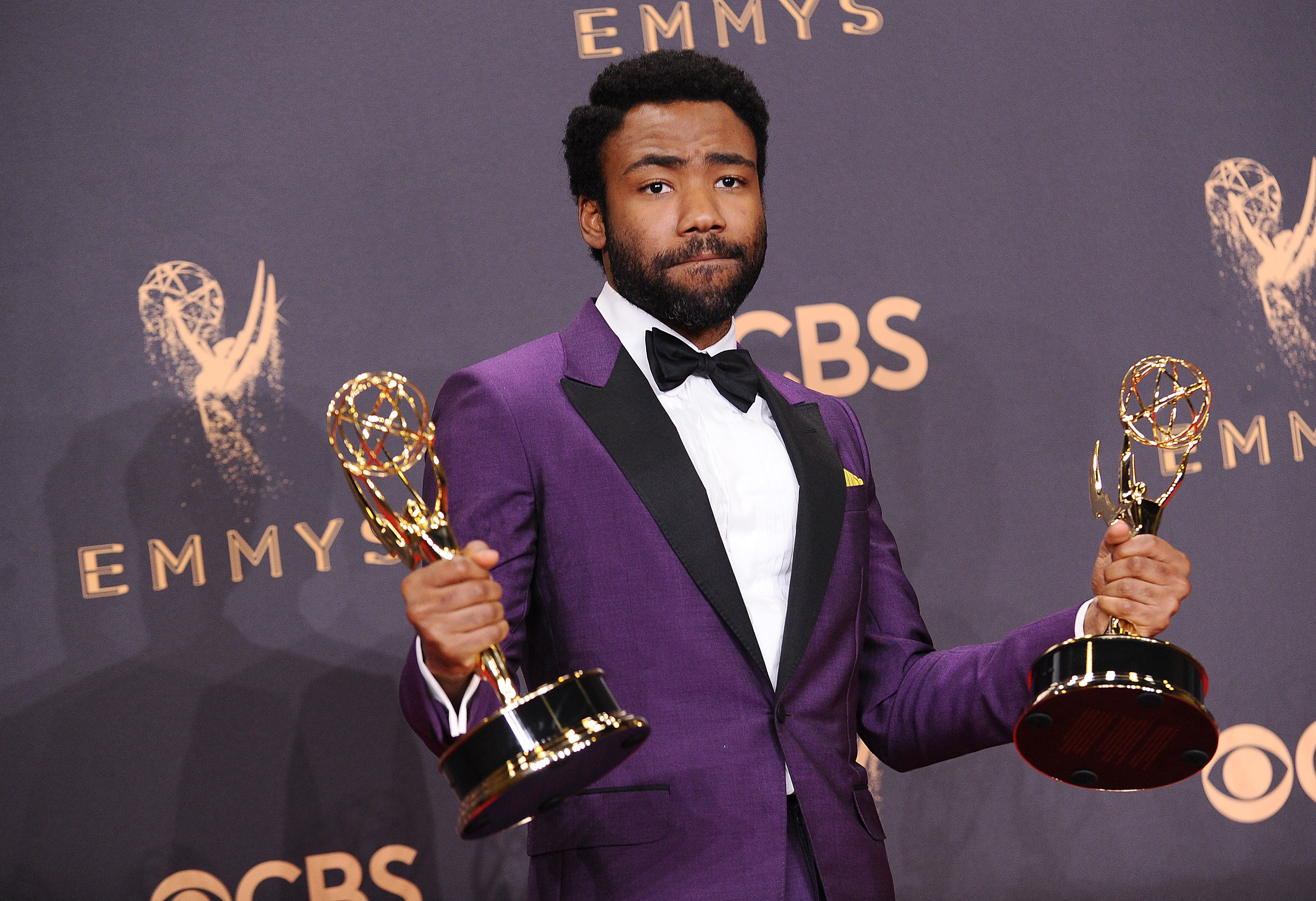 donald glover dating black people