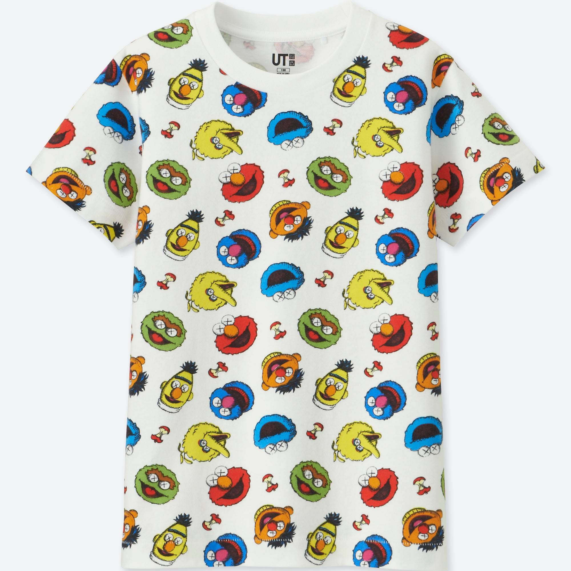 ba87222edf3 UNIQLO UT joins with KAWS and Sesame Street for a new collection. The full T -shirt lineup features 17 different graphic designs in various colour  options.