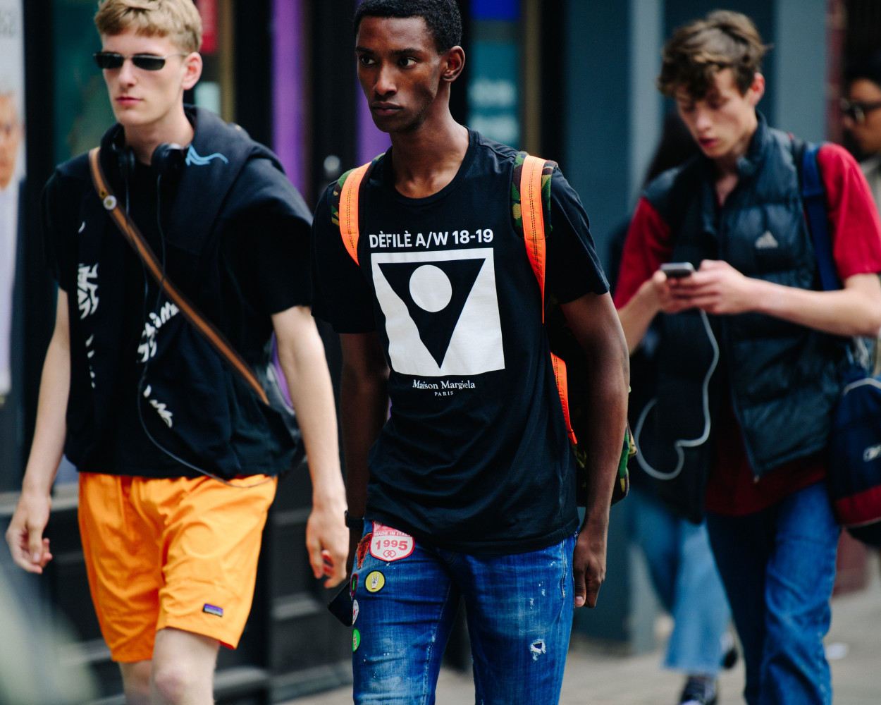 Best Street Style From London Fashion Week Men S Ss19 Fashion News