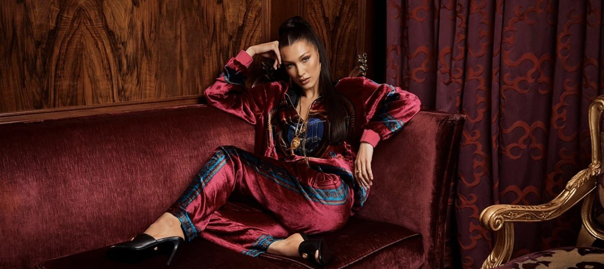 Bella Hadid Stars In New KITH & Versace Collaboration | Fashion News
