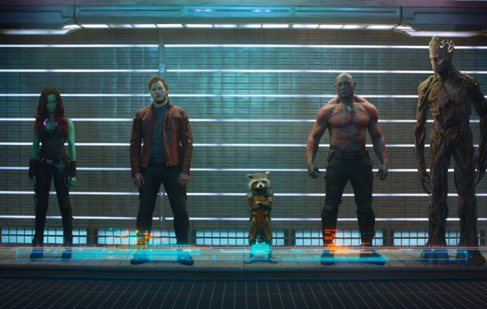 The Guardians of the Galaxy film snapshot