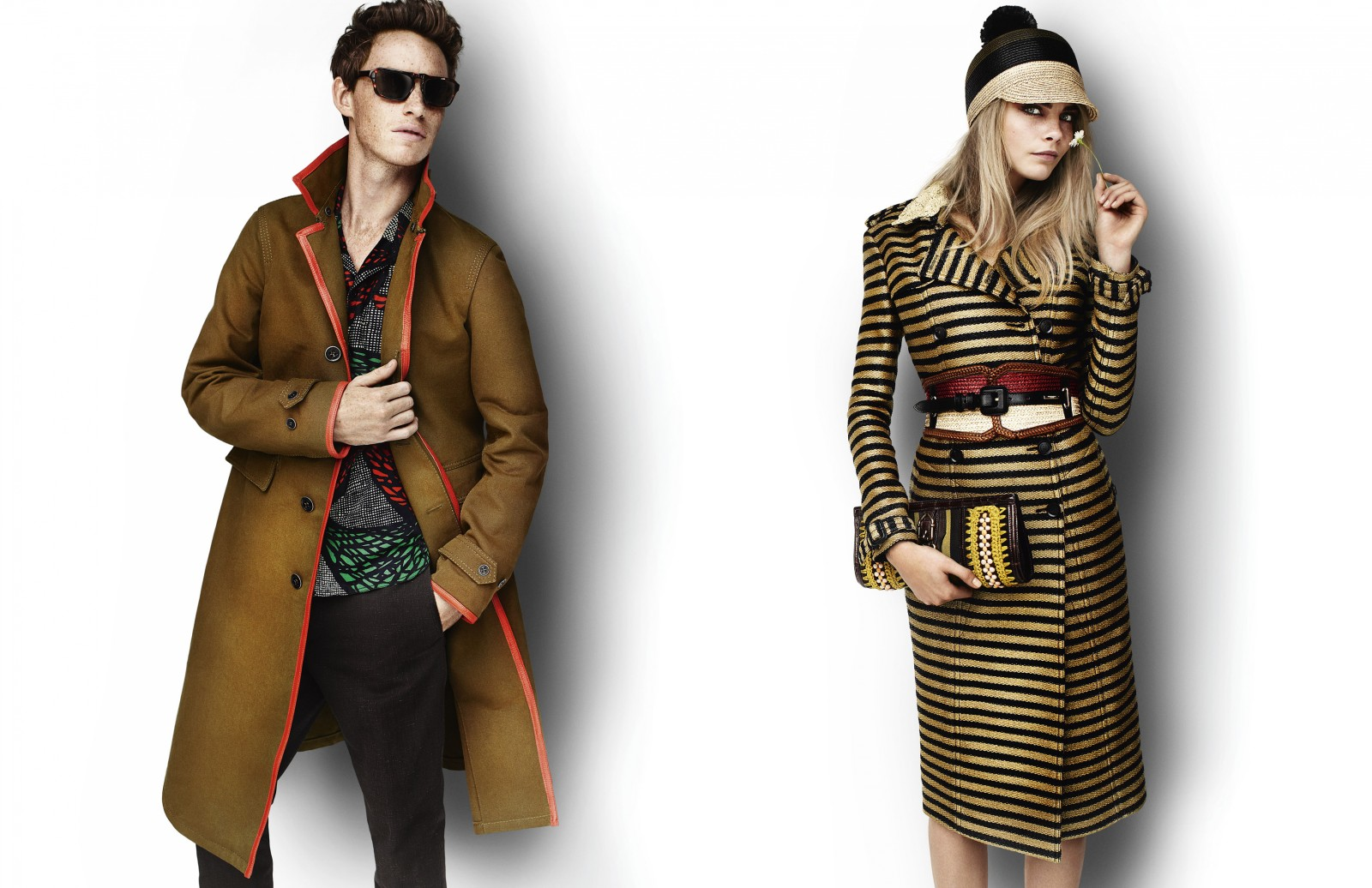 Burberry Spring-Summer 2012: Mario Testino Again to Make Your Own