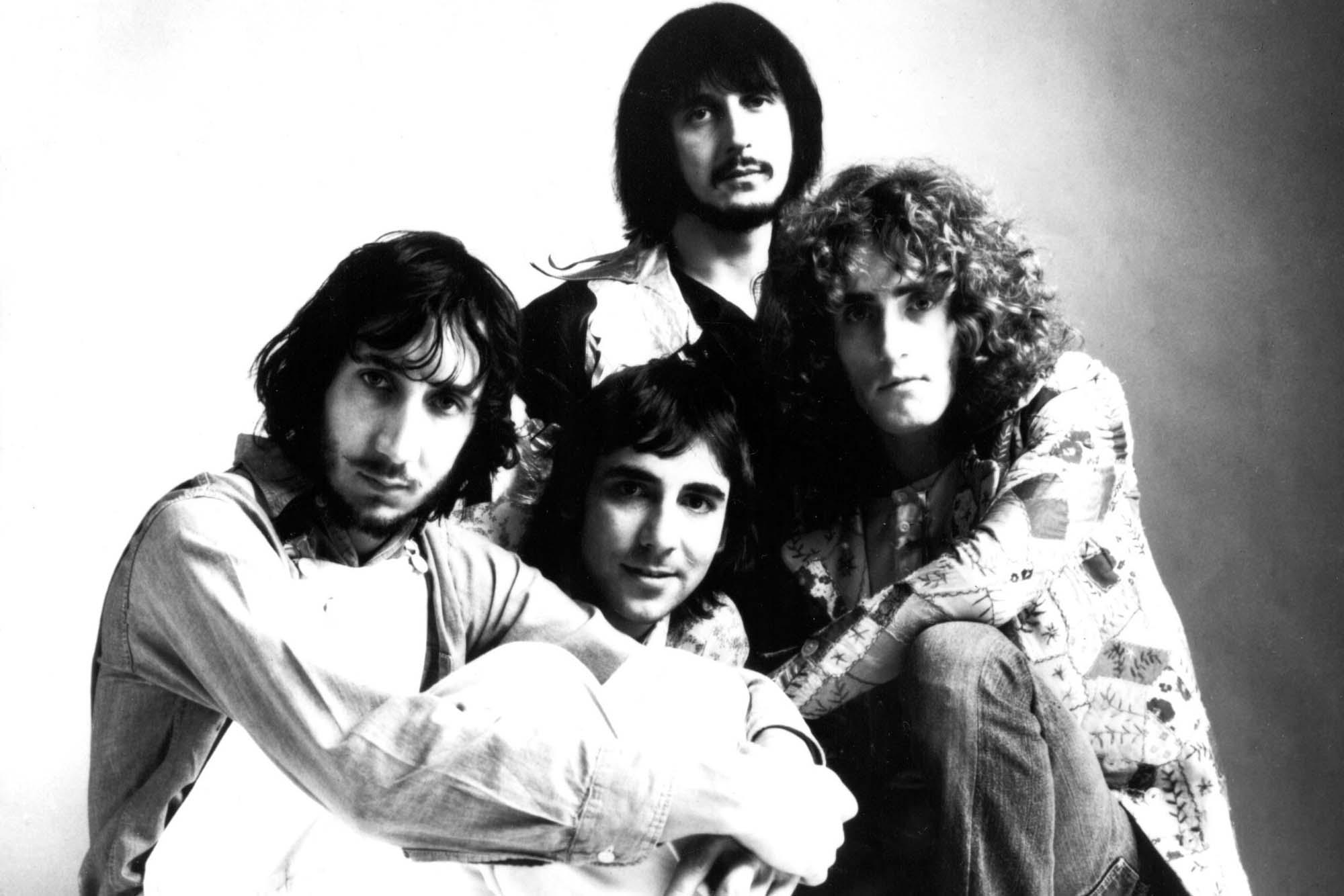 The Who, Pete Townshend, Keith Moon, John Entwistle, Roger Daltrey, circa late 1970's.